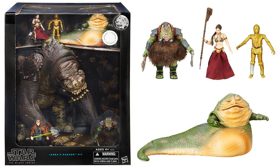 Star Wars The Black Series Jabba's Rancor Pit - Hasbro