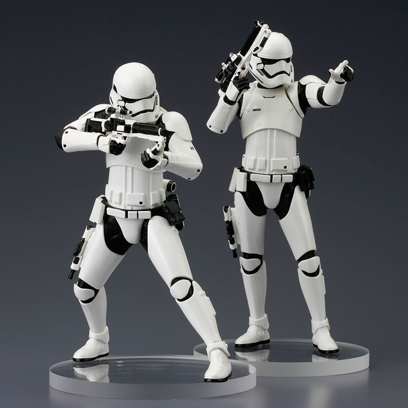 Star Wars The Force Awakens ArtFX+ Statue First Order Stormtrooper 2 Pack - Kotobukiya