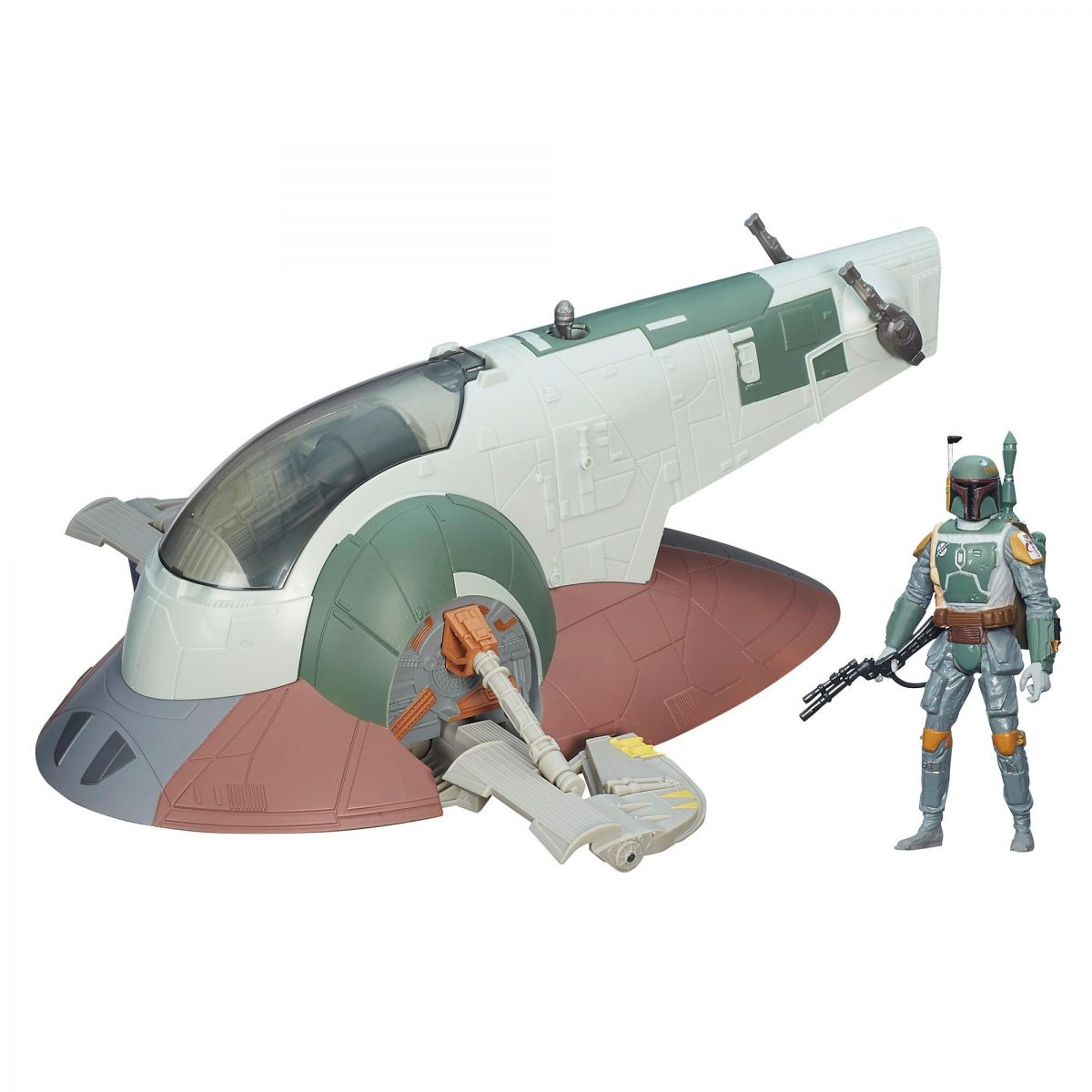 Star Wars The Force Awakens: Boba Fett Slave I - Hasbro
