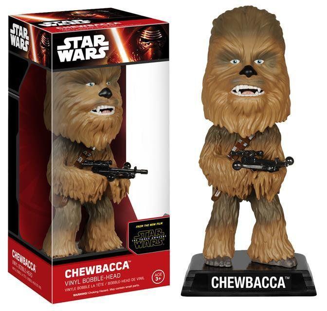 Funko Star Wars The Force Awakens Chewbacca Wacky Wobbler - Funko