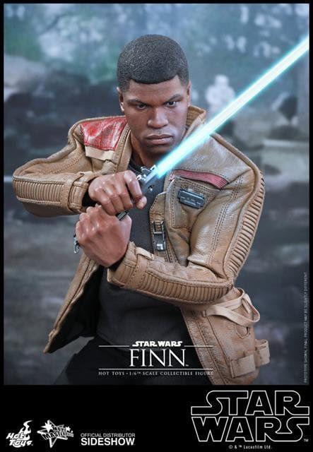Boneco Finn: Star Wars: O Despertar da Força Escala 1/6 (MMS345) - Hot Toys - CD