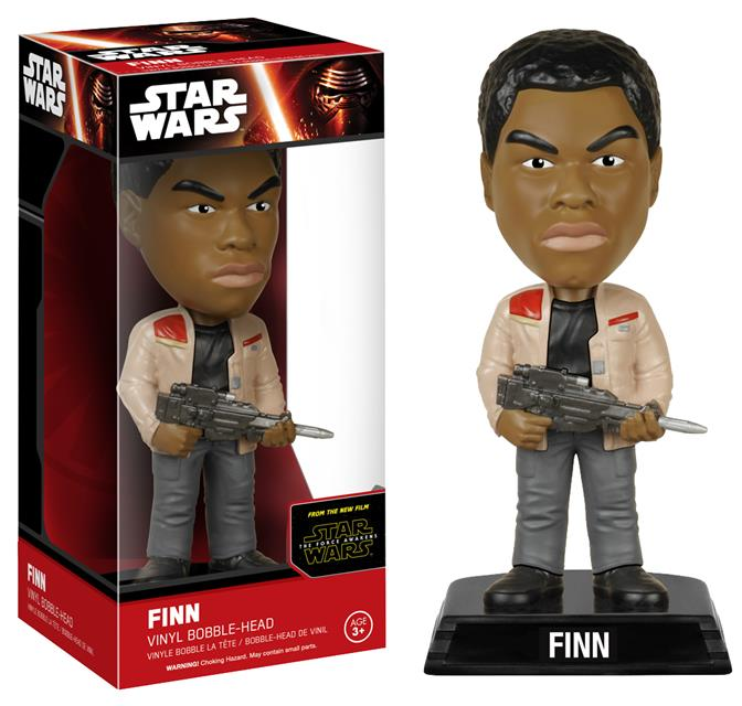 Funko Star Wars The Force Awakens Finn Wacky Wobbler - Funko