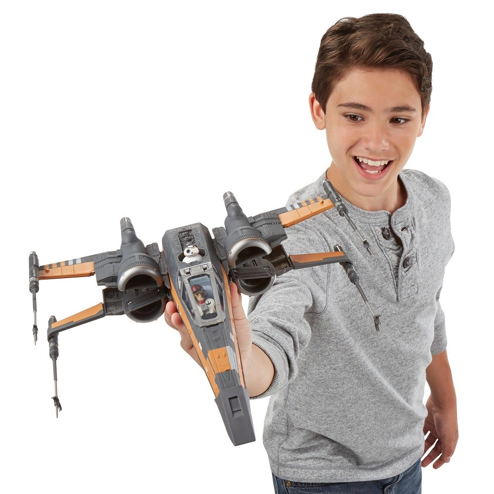 Star Wars The Force Awakens Poe's X-wing Fighter - Hasbro