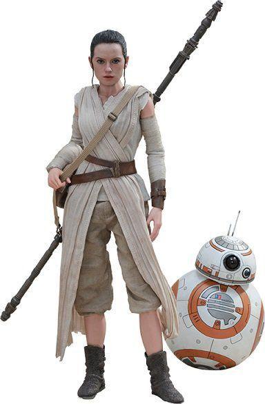 Bonecos Rey & BB-8: Star Wars O Despertar da Força (The Force Awakens) Escala 1/6 (MMS337) - Hot Toys