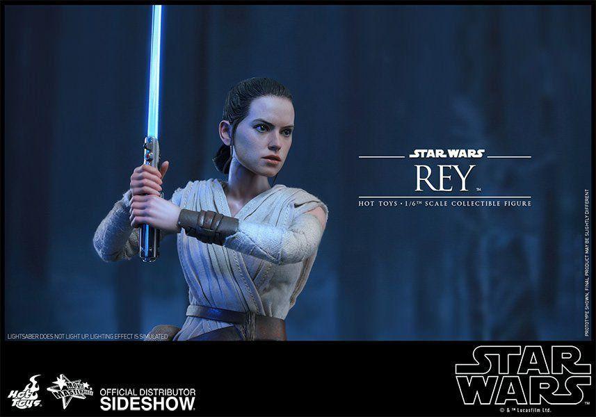 Boneco Rey: Star Wars Episódio VII: O Despertar da Força Escala 1/6 - Hot Toys - CD
