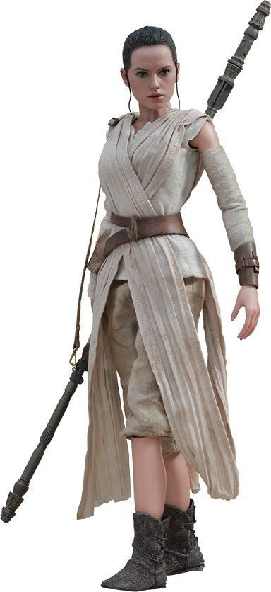 Action Figure Rey: Star Wars Episódio VII: O Despertar da Força Escala 1/6  (MMS336)- Hot Toys