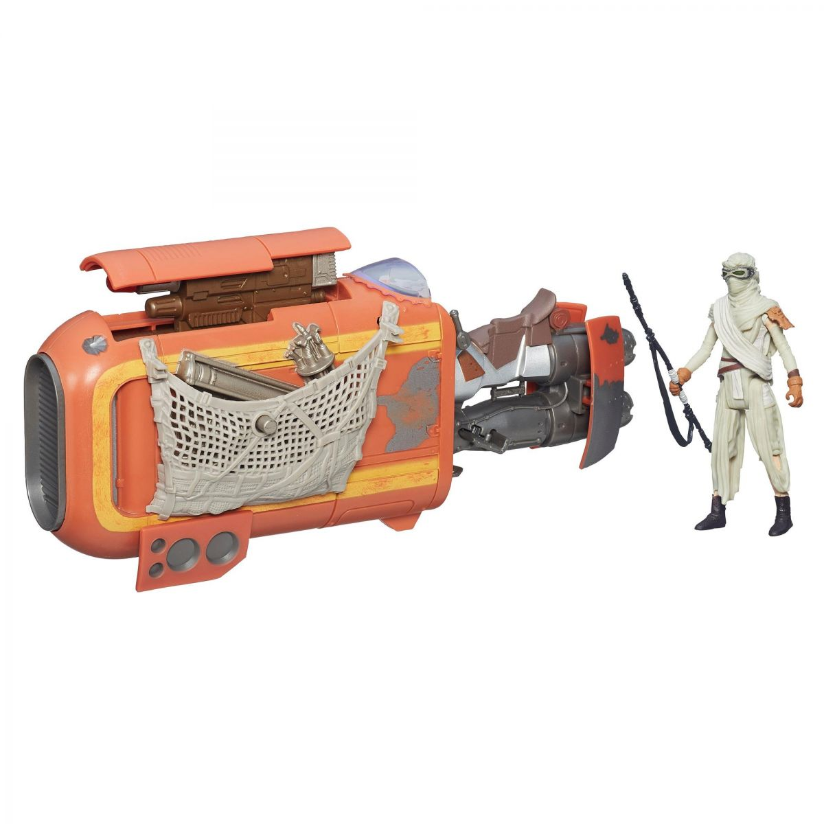 Star Wars The Force Awakens: Rey's Speeder (Jakku) - Hasbro