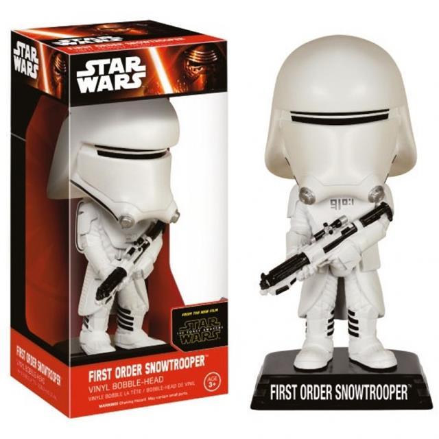 Funko Boneco Bobble Head Snowtrooper: Star Wars: O Despertar da Força - Funko