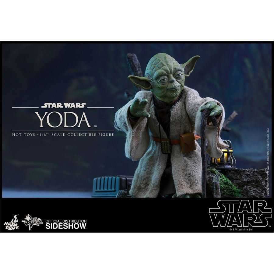 Boneco Yoda: Star Wars Episódio V: O Império Contra-Ataca Escala 1/6 - Hot Toys