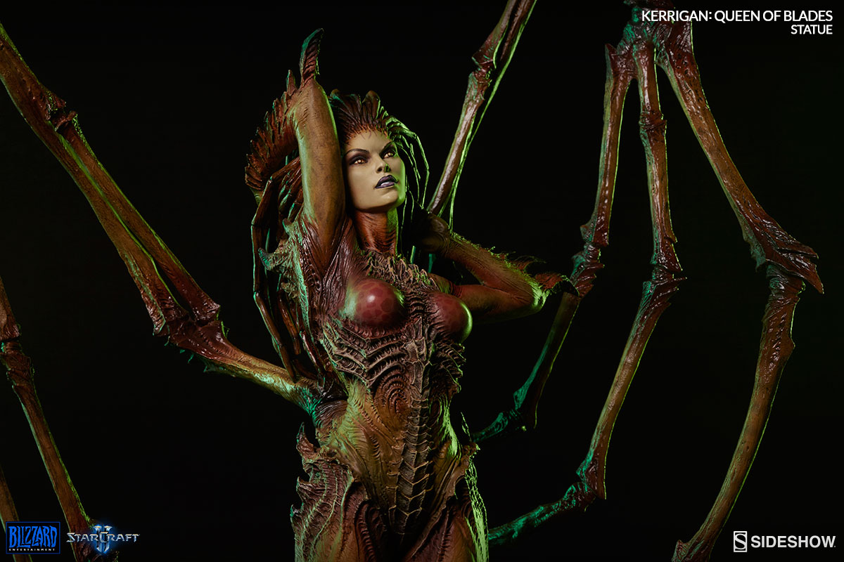 Starcraft Kerrigan Queen of Blades Estátua Escala 1/4 - Sideshow EPP