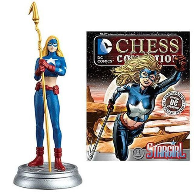Stargirl White Pawn DC Chess Figurine Collection Magazine #79 - Eaglemoss