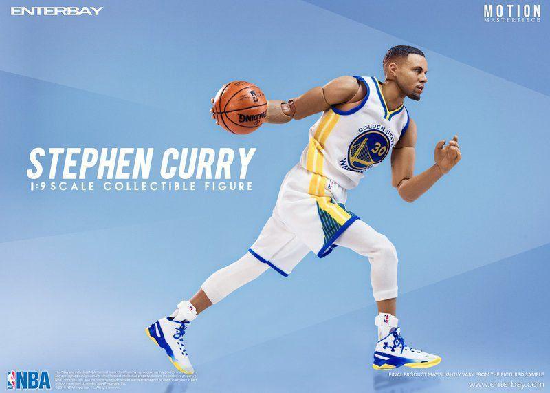 Stephen Curry Escala 1/9 - Enterbay