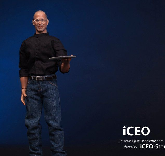 Action Figure Steve Jobs (Escala 1/6) - iCeo Custom