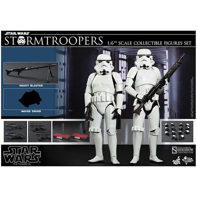 Stormtrooper Star Wars 2 pack Escala 1:6 - Hot Toys