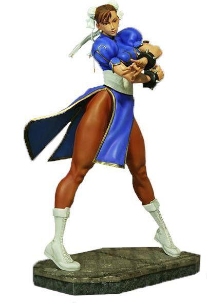 Estátua Chun Li: Street Fighter Escala 1/4 - Hollywood Collectibles