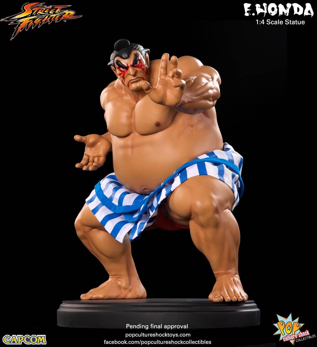 Estátua E. Honda: Street Fighter IV (Escala 1/4) - Pop Culture Shock