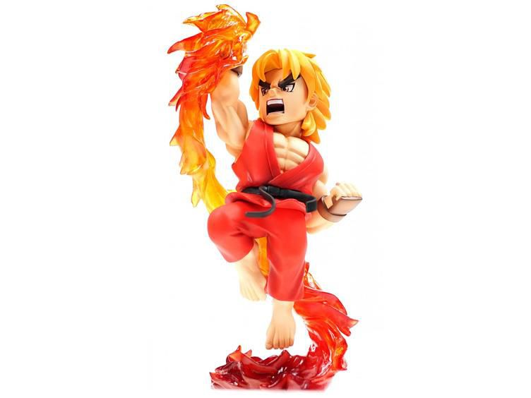 Estátua Street Fighter The New Challenger: Ken -  Big Boys Toys