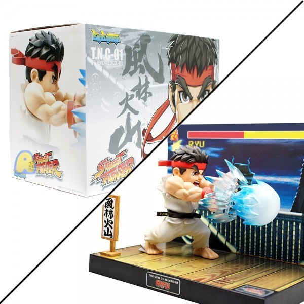 PRÉ VENDA : Street Fighter The New Challenger: Ryu -  Big Boys Toys