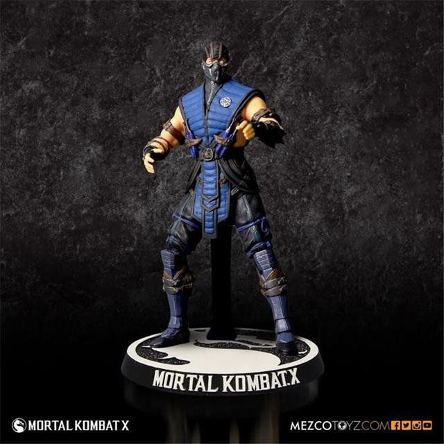 Sub-Zero Mortal Kombat Figures 3.75 - Mezco