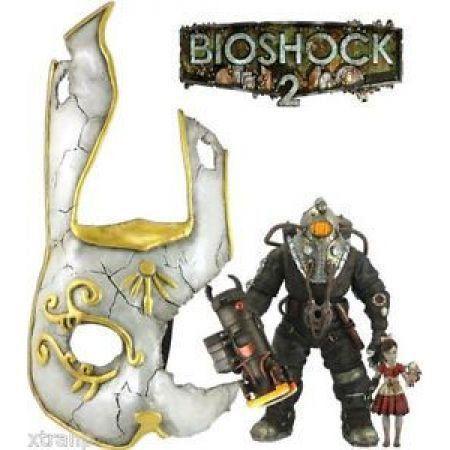 Subjet Omega Little Sister Bunny Mask Bioshock 2 - NECA
