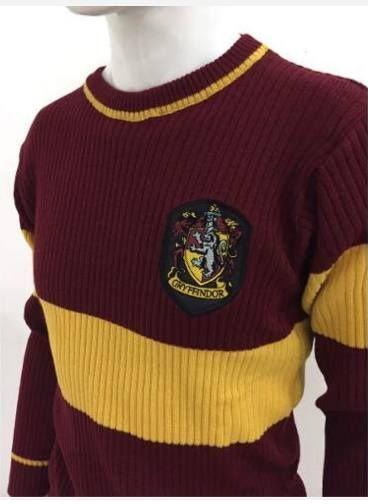 Suéter Quadribol (Gryffindor): Harry Potter