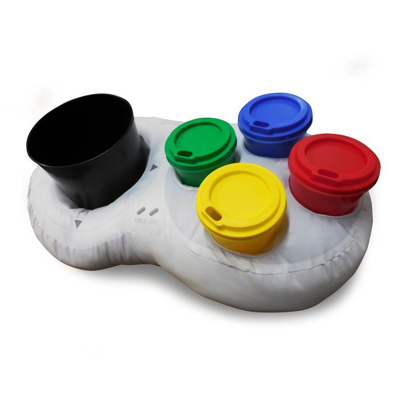 Super Almofada Porta Pipoca Controle de Vídeo Game