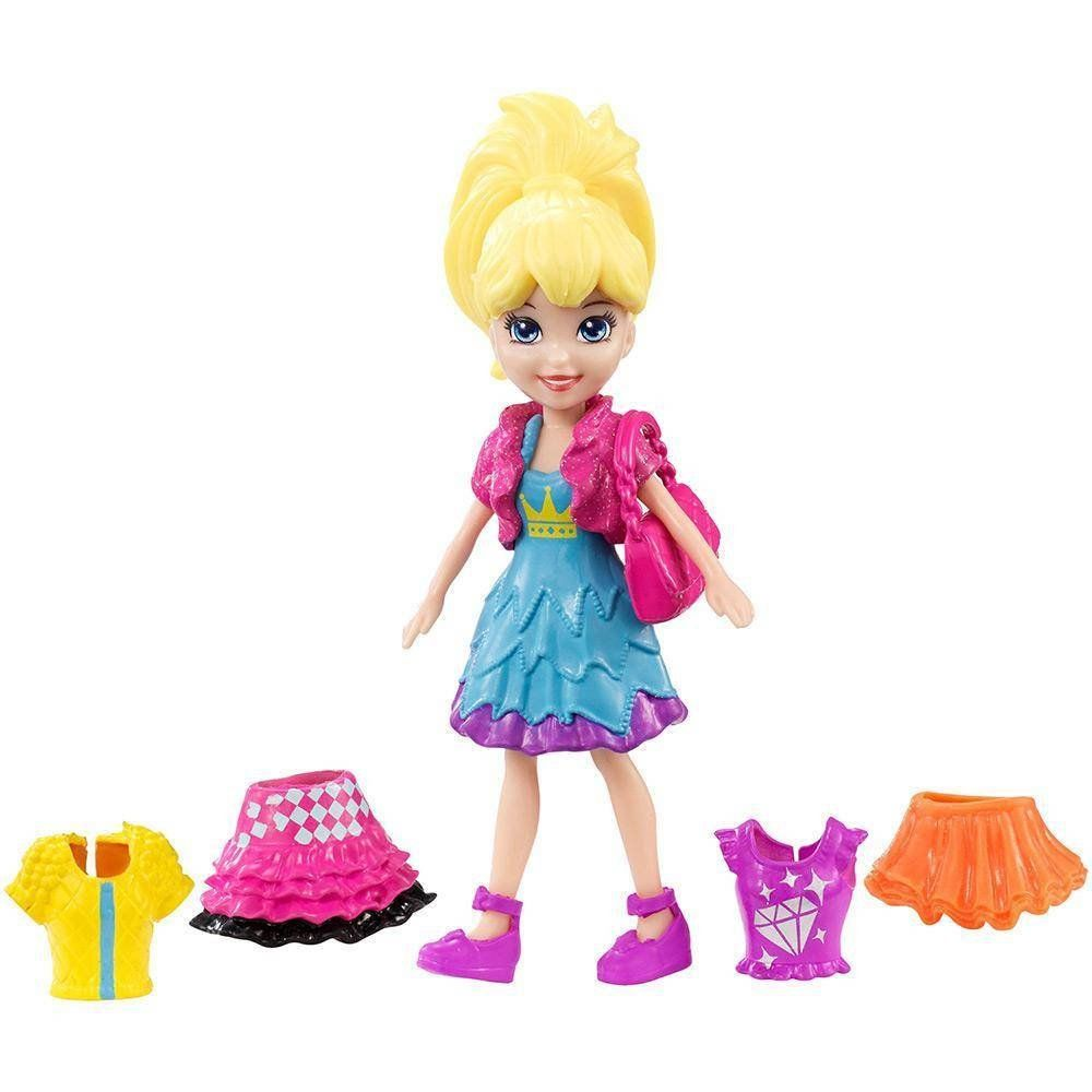Super Fashion Polly: Polly Pocket - Mattel