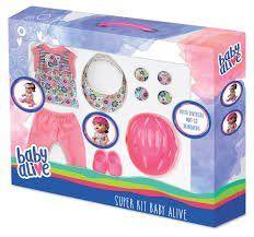 Super Kit Baby Alive Completo - Habro