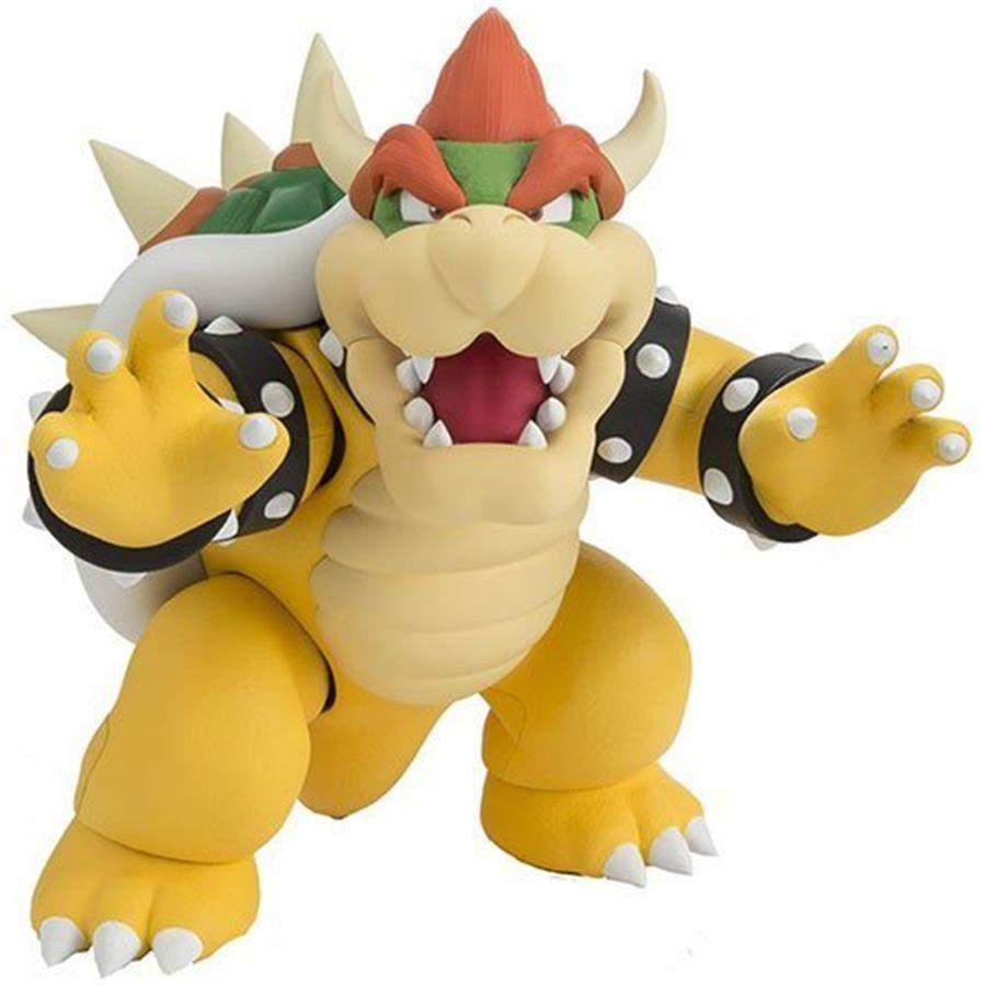 Boneco Bowser: Super Mario Bros S.H Figuarts - Bandai