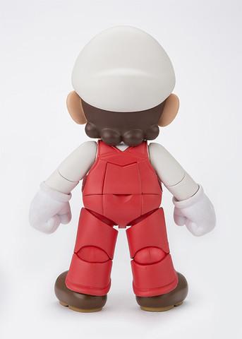 Boneco Mario Fire: Super Mario Bros S.H Figuarts - Bandai - CD