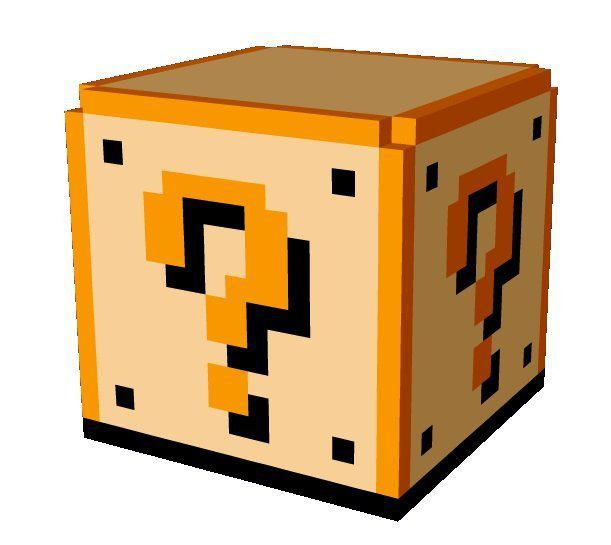 Super Mario Bros : Luminária Cubo Question Block - Nintendo
