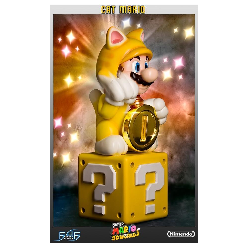 Super Mario: Cat Mario - First 4 Figure