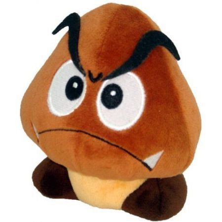 Super Mario Goomba (Pelúcia) - Little Buddy