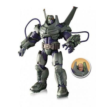 Super Villains Armored Lex Luthor Deluxe - DC Collectibles