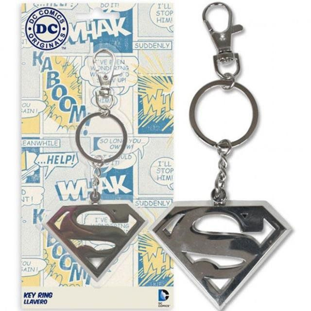 Superman Chaveiro de Metal - SD Toys