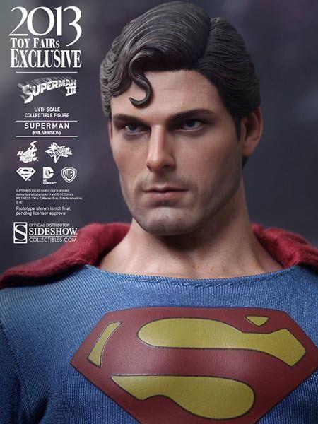Superman III Evil Versão Escala 1/6 - Hot Toys