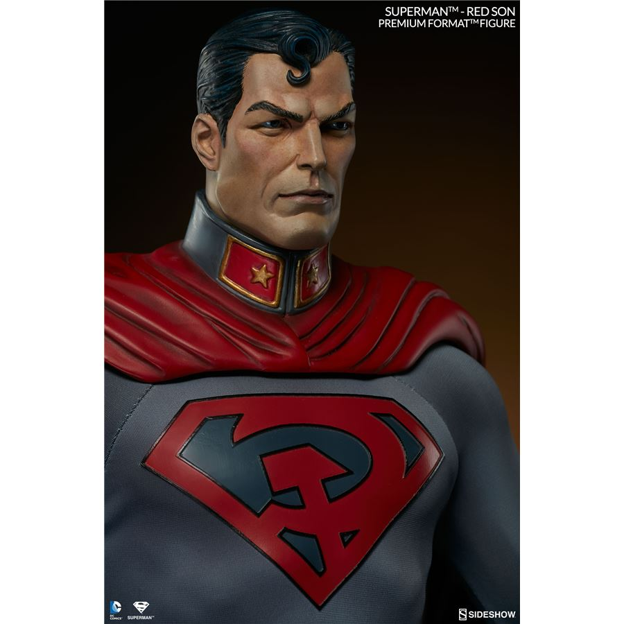 Superman Red Son Premium Format Escala 1/4 - Sideshow