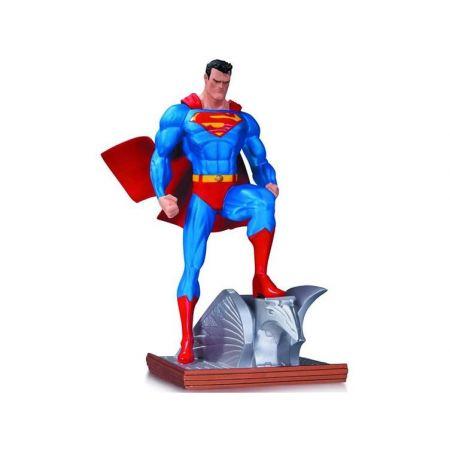 Superman (Super Homem) Mini Statue Jim Lee New Edition - DC Collectibles