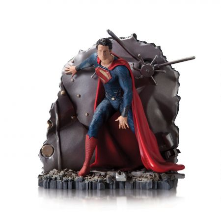 Superman Vault Estátua Man of Steel Exclusive 1:12 - Gentle Giant