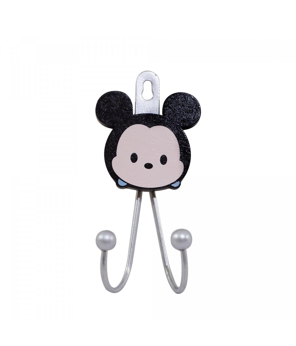 Suporte (2 Ganchos): Mickey Mouse ( Tsum Tsum ) - Disney