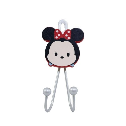 Suporte (2 Ganchos): Minnie Mouse ( Tsum Tsum ) - Disney