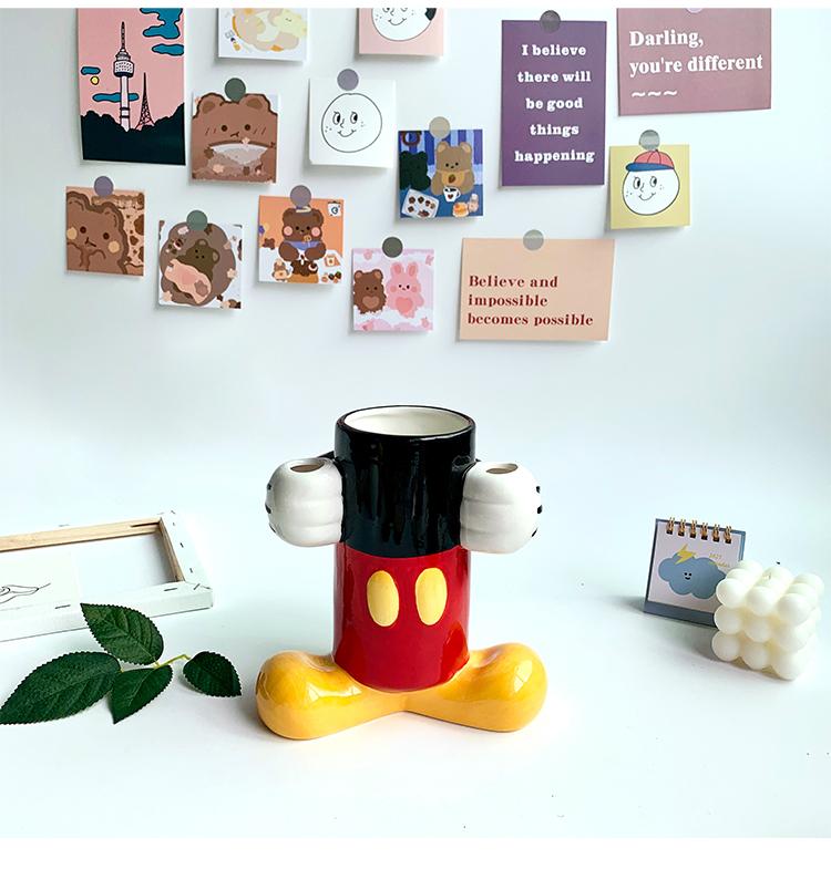 Suporte Geek Desenho Animado Mickey e Minnie Mouse Disney - MKP