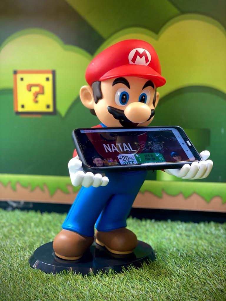 Suporte Para Celular/Nintendo 3DS Mario: Super Mario Bros