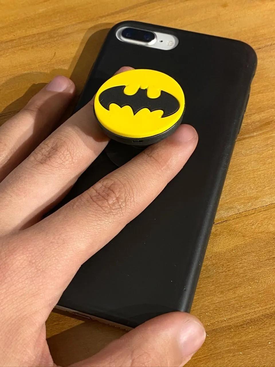 Suporte Para Celular Pocket Socket Morcego (Preto)
