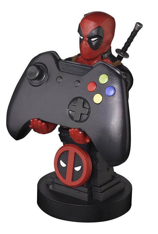 PRÉ VENDA Suporte Para Controle de Vídeo Game e Celular: Deadpool (Marvel) - Exquisite Gaming