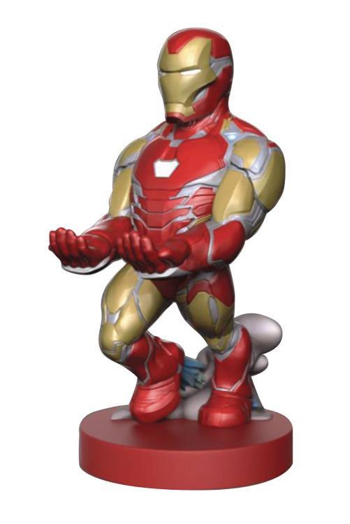 PRÉ VENDA Suporte Para Controle de Vídeo Game e Celular: Homem de Ferro (Iron Man) Avengers: Endgame (Marvel) - Exquisite Gaming