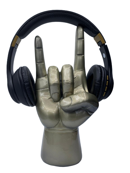 Suporte Para Fones: Rock 'n' Roll (Dourada)