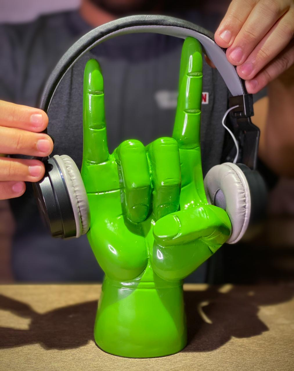 Suporte Para Fones: Rock 'n' Roll (Verde) - EV