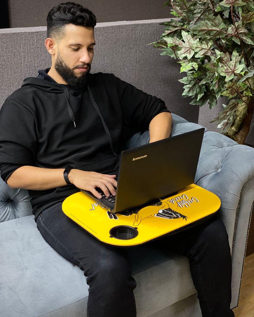 Suporte para Notebook/ Laptop Patolino Duffy Duck: Looney Tunes - Metropole