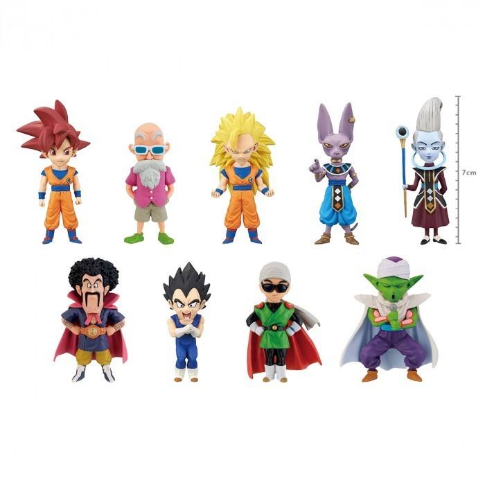 Surpresa Dragon Ball: Dragon Ball Super (GOD x GOD) - Banpresto